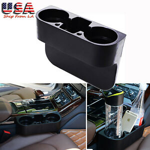 Car Seat Seam Cup Holder Phone Mount Car Seat Gap Filler Stand Storage Organizer