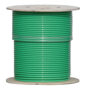 18 3c Shielded Cmp Plenum Rated Cable 1000 Reel Green Jacket Free Shipping