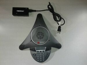 Used Polycom Soundstation 6000 Ip Conference Station With Poe Injector