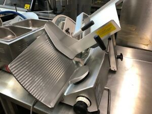 2012 Bizerba Gsph Cheese Deli Turkey Meat Manual Gravity Slicer Commercial Quiet