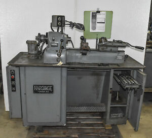 Hardinge Dv 59 Second Operation Lathe ctam 3569