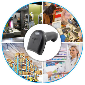 Handheld Barcode Scanner Reader Usb Wired 1d Bar Code Scan For Pos System