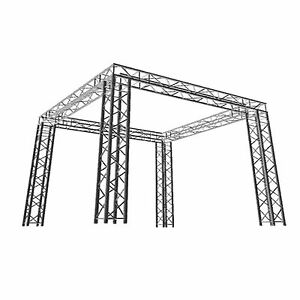 Global Truss Sq 10x20 Venue Square Display tradeshow dj Booth