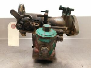 John Deere Early Unstyled A Tractor Dltx 8 Brass Carburetor 12487