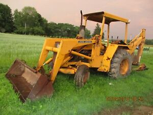 John Deere 310 Backhoe Loader 3 Cylinder Diesel Recent Overhaul