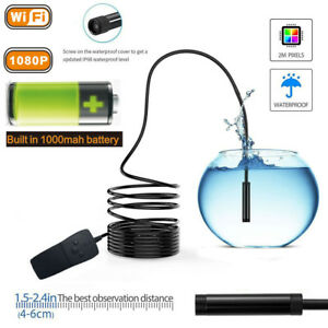 5 10m Wireless Hd 1080p Waterproof Wifi Camera Inspection Endoscope For Iphone