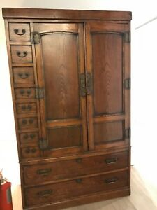 Handsome Antique Korean Chest Nyc