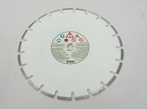 New Stihl 14 350mm Diamond Cutting Blade Wheel Concrete Asphalt Brick Block