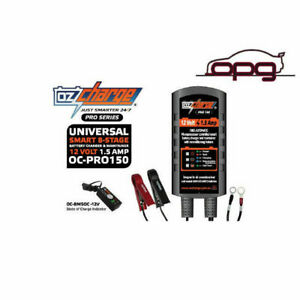 Ozcharge Pro Series 12v 1 5 Amp 8stage Battery Charger Maintainer For Watercraft