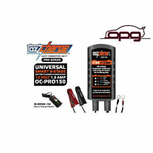 Ozcharge Pro Series 12v 1 5 Amp Battery Charger Maintainer For Harley Davidson