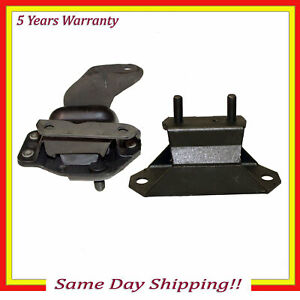 Engine Motor Trans Mount 2784 2998 2pcs Set For 1995 Ford Mustang 3 8l Rwd