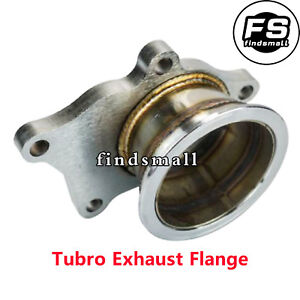 T3 T4 For Turbo 5 Bolt To 3 V Band Flange Turbo Adaptor Stainless Steel Adapter