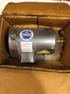 Baldor Industrial Electric Motor Three Phase New