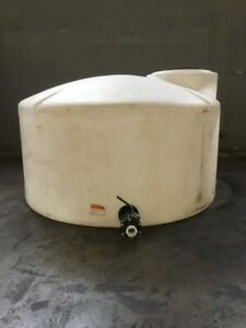 550 Gallon Poly Water Storage Tank