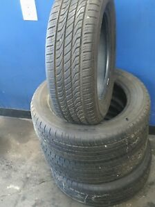 Set Of 4 Used Toyo Extensa 195 60 15 Tires High Tread Fast And Free Shipping