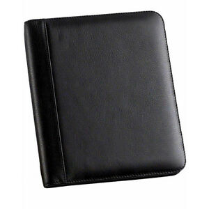 Buysmartdepot Leather Memo Pad Holder Junior Black Business Accessorie New