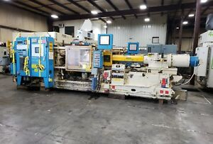 375 Ton Cincinnati Milacron Injection Molding Machine 48oz Shot 6008sr