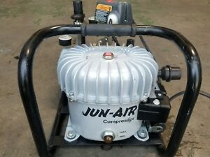 Jun air Compressor Model 6 4 Air Compressor Silent 150psi 120v
