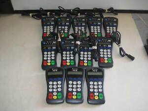12 First Data Credit Card Pin Pad Terminals 9 Fd 30 3 Fd 10