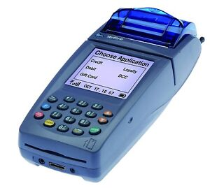 Verifone Nurit 8020 Wireless Credit Card Terminal used