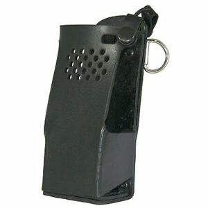 Boston Leather Radio Holder For Motorola Apx6000 Radio Holder For Motorola