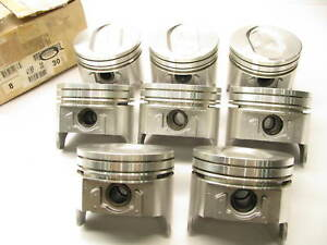 8 Perfect Circle Tc1856030 Engine Piston Set 030 1968 1987 Ford 460 7 5l