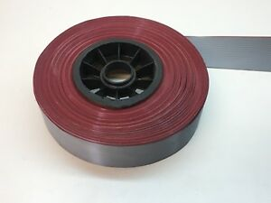 50ft Roll Panduit Pan flex Flat Cable Ribbon 34 conductor wire 28awg