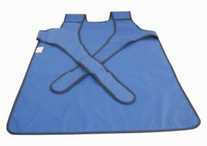 X ray Lead Vest Apron Protection Protective 0 35mmpb New Type Blue Fa07 S