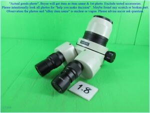 Motic Smz 140 W10x 23 Zoom Stereo Microscope As Photo Sn 3957 Dhltous