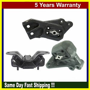 Dodge Ram 1500 4wd 4 7l 5 7l 2002 2005 Set For Engine Motor Transmission Mount