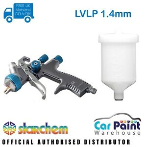Starchem Lvlp 1 4mm Spraygun Gravity Feed Professional Spray Gun Lacquer Base