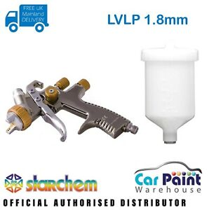 Starchem Lvlp 1 8mm Spraygun Gravity Feed Professional Spray Gun For Primer