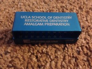 Ucla Brasseler Amalgam Preparation Bur Block For Dentistry