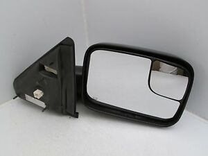 Dodge Ram Right Passenger Side Power Towing Mirror 09 10 Oem Textured