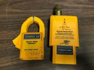 Fieldpiece Ach Avg1 Current Clamp Accessory And Vacuum Gauge Head