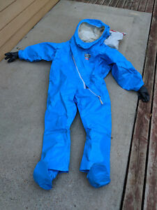 Kappler Level A Fully Encapsulated Vapor And Chemical Protection Hazmat Suit