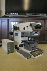 Olympus Vanox Ahbt3 Fluorescent Research Photomicrographic Microscope