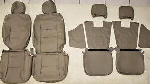 2009 2015 Toyota Tacoma Accesscab Factory Sand Leather Upholstery Seat Cover Set