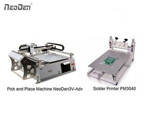 Save 200 Smd Pick And Place Machine Vision System Neoden3v adv solder Printer