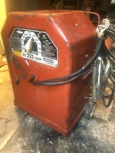 Vintage Lincoln Electric Ac 225 Amp Linc Welder Classic Local Pick up Only