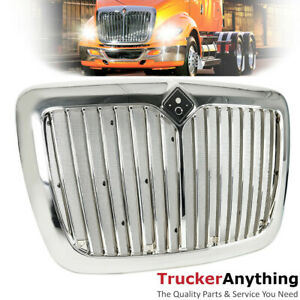 Front Grille Chrome 2008 2018 International Prostar Truck Grill With Bug Screen
