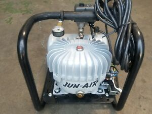 Jun air Compressor Model 3 4 Air Compressor Silent 100psi 230v Cover Broken