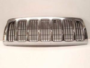 2000 00 Jeep Grand Cherokee Grille Chrome Laredo Oem 455202