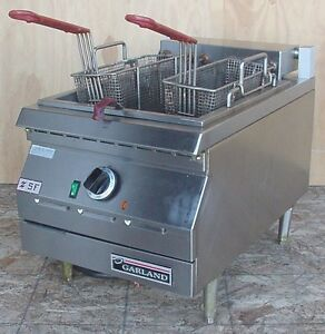 Garland Ed 15sf Electric 17lb Countertop Super Deep Commercial Fryer 3ph 208v