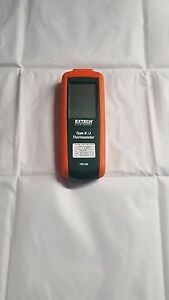 Extech Instruments Type K j Thermometer Tm100 includes Case