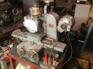 Vintage Grenby S2 Bench Surface Grinder good Condition And Runs