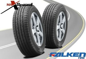 Qty Of 2 Falken Sincera Sn250 A S 215 60r16 95v High Performance Tires