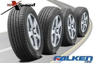 Qty Of 4 Falken Sincera Sn250 A S 215 60r16 95v High Performance Tires