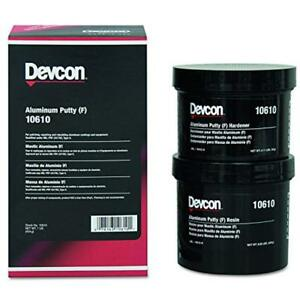 New 10610 Epoxy Adhesives Aluminum Putty f Lb Can