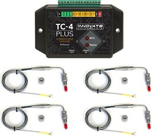 Innovate 3895 Tc 4 Egt Tuning Kit 4x K Type Thermo Couple Probes Included